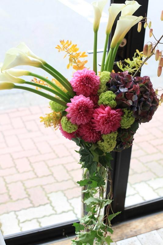 スタンド花の画像