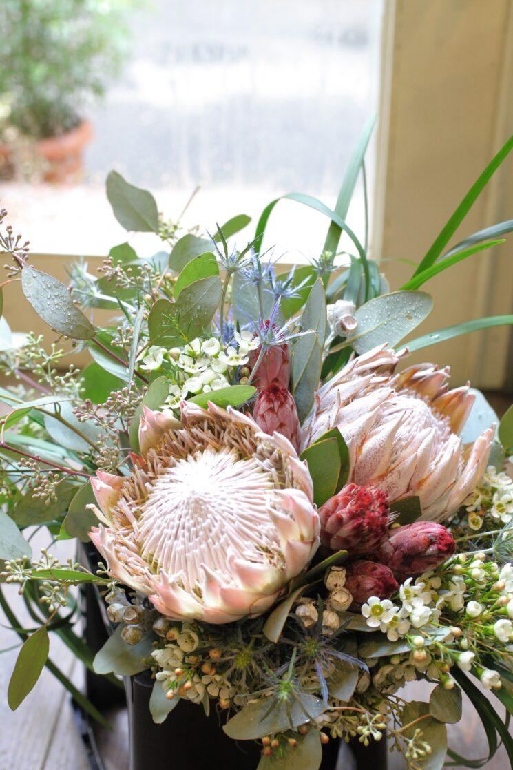 ワイルドフラワーの花束画像