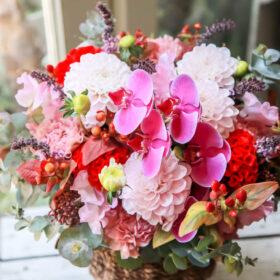 お花の即日配達の画像